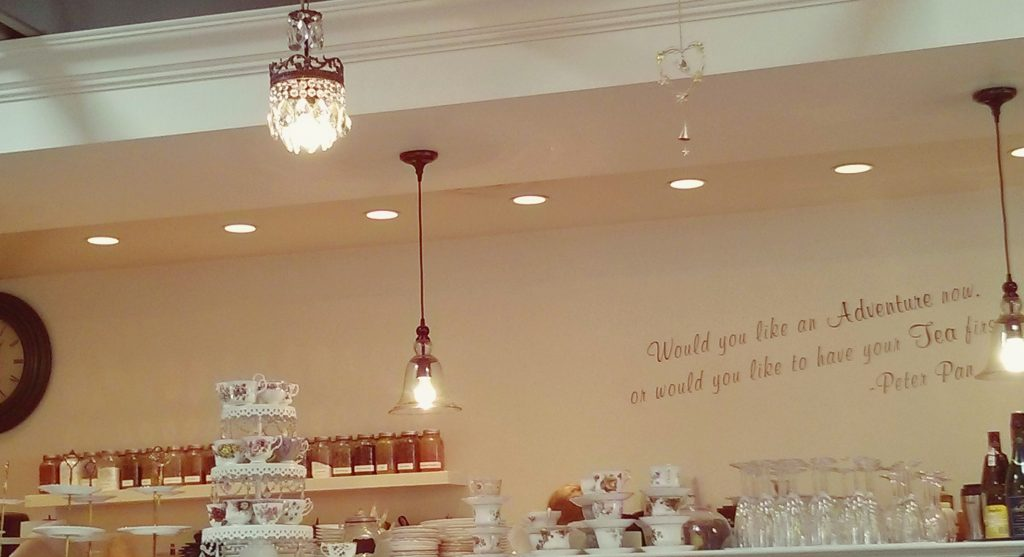 Neverland tea salon Peter Pan Vancouver Ikigai travel