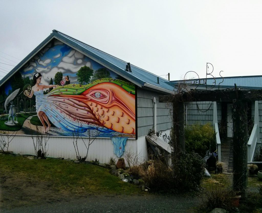 travel guide to haida gwaii cafe remote work digital nomad queen charlotte queen B's canada ikigai travel