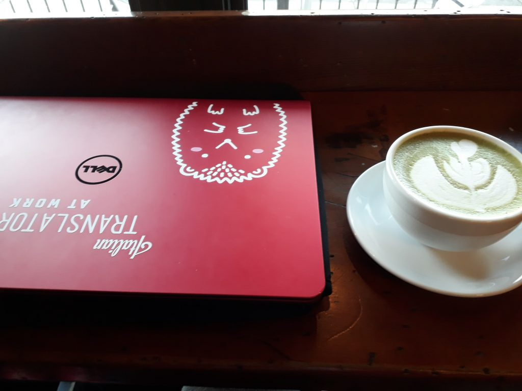 Blaq sheep matcha latte coffee vancouver ikigai travel
