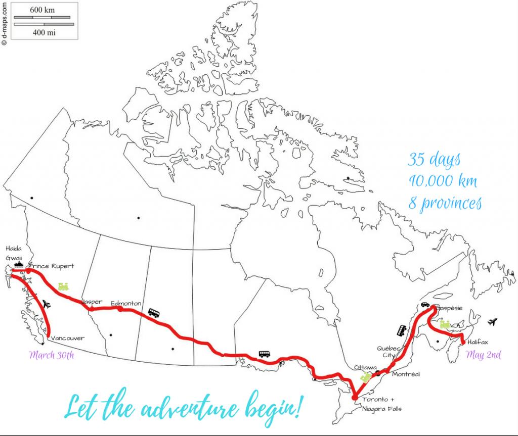 canada coast to coast trip by land itinerary on a budget ikigai travel