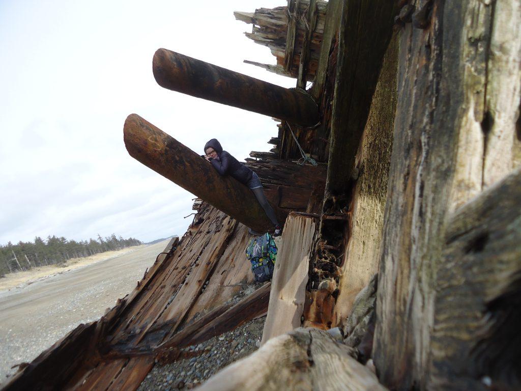 travel guide to Haida Gwaii pasuta shipwreck tlell british columbia canada ikigai travel
