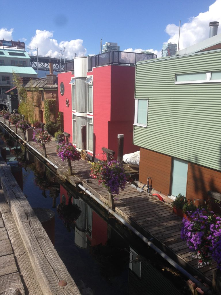 Boathouses Granville Island Vancouver tour Ikigai Travel