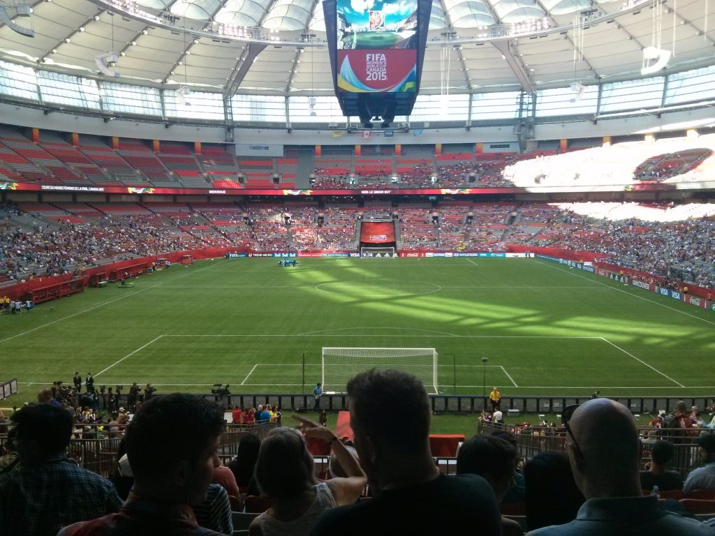 BC Place Whitecaps FC spring in vancouver ikigai travel