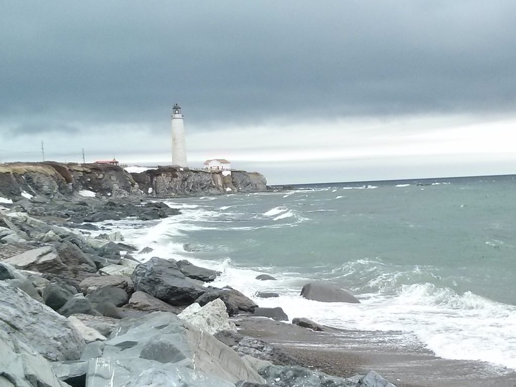 road trip in gaspésie lighthouse parc de forillon quebec canada ikigai travel
