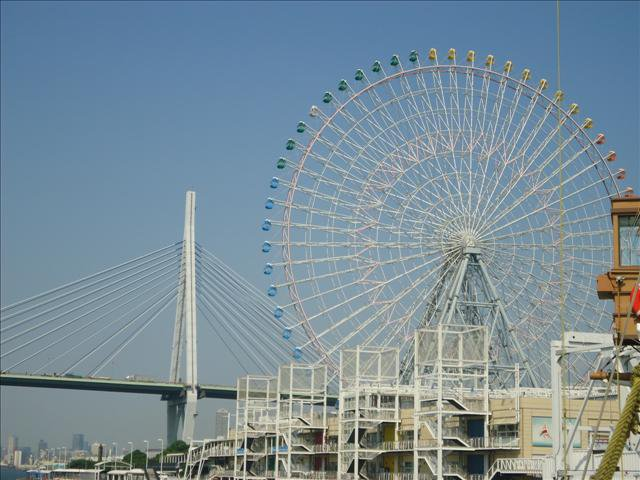 tempozan wheel osaka 2 days in osaka