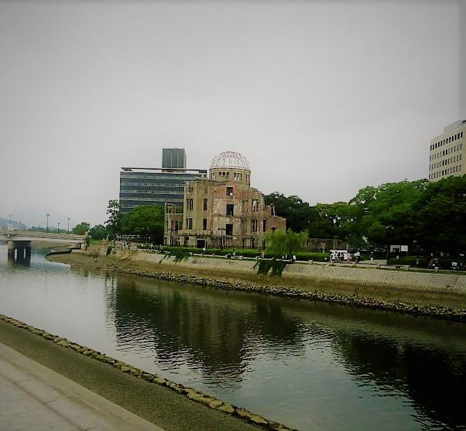 Hiroshima & Miyajima Guide A-bomb dome japan