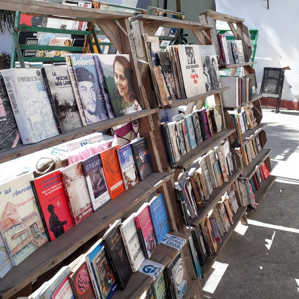 must-sees in havana book market habana vieja cuba ikigai travel