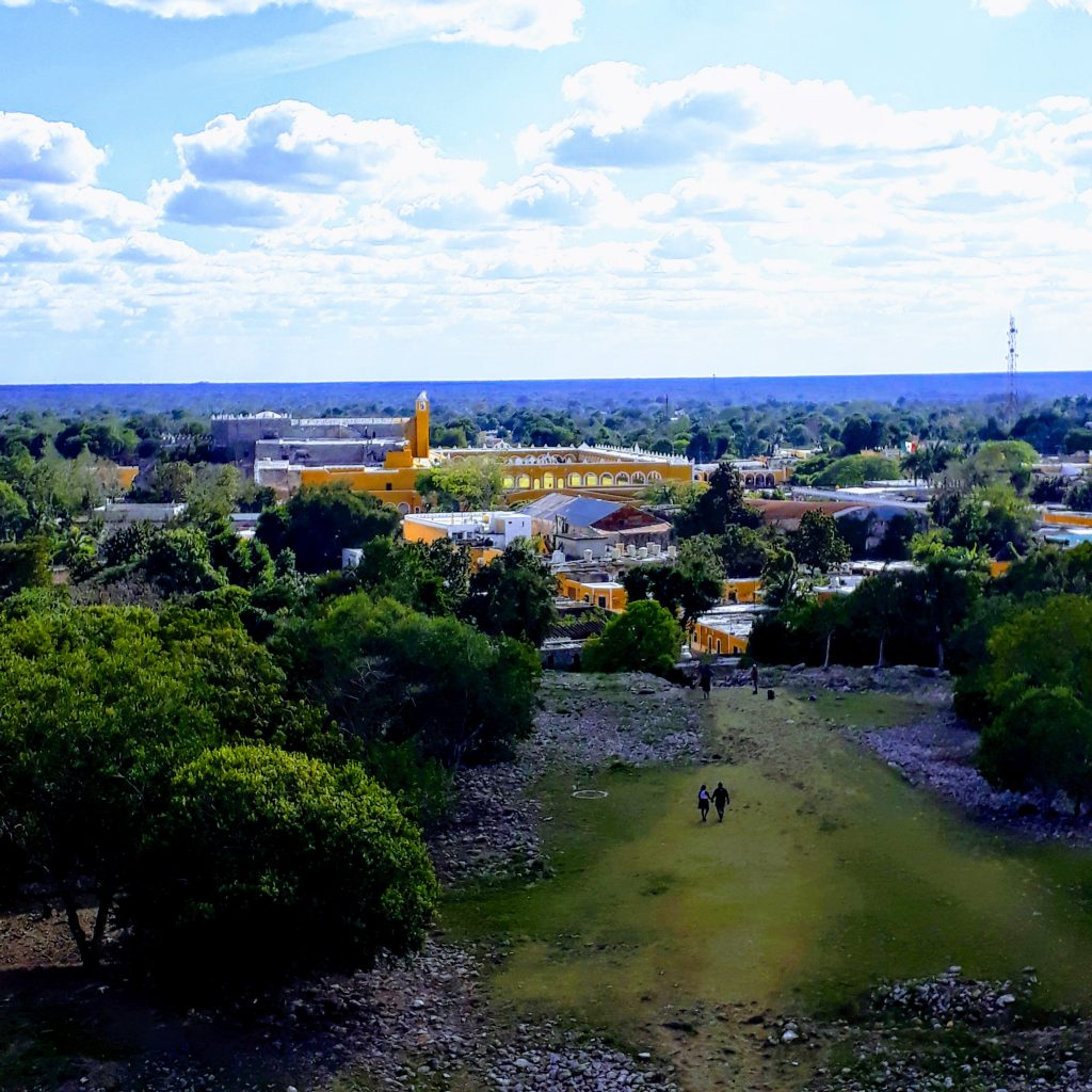 mayan pyramid guide to izamal day trip from merida mexico ikigai travel
