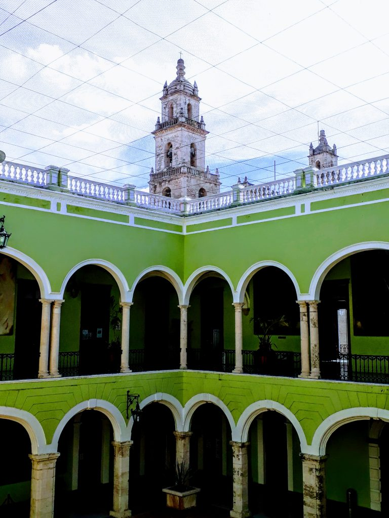 things to do in merida mexico palacio de gubierno plaza grande ikigai travel