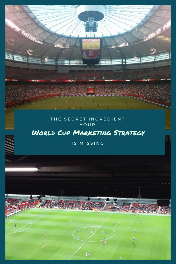 WORLD CUP MARKETING STRATEGY PINTEREST